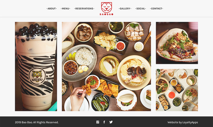restaurant website developer london