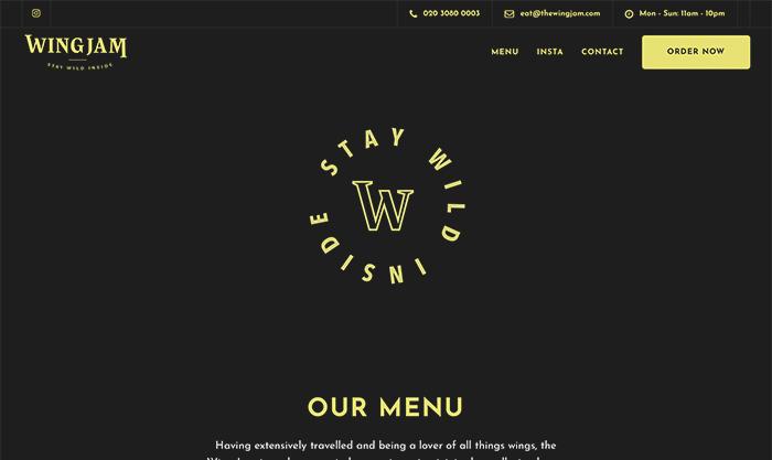 restaurant web developer london