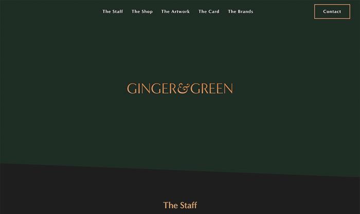 ginger green