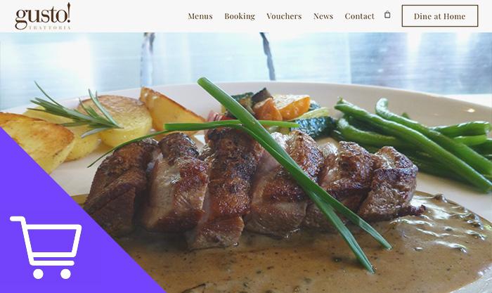 restaurant web developer