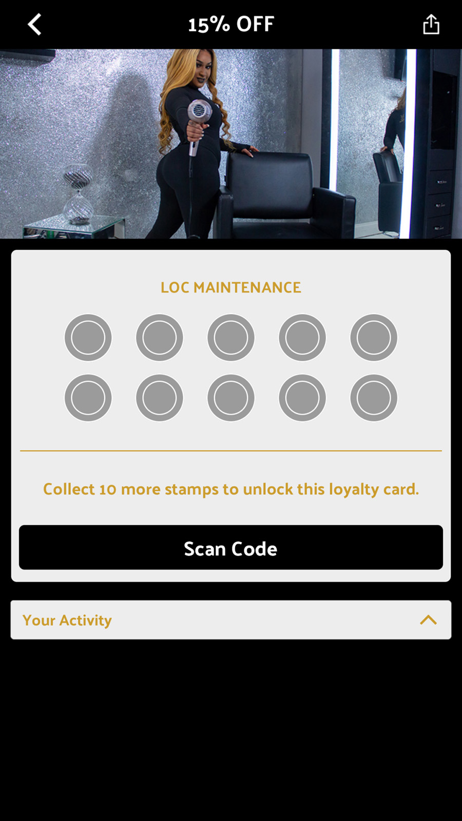 salon loyalty app